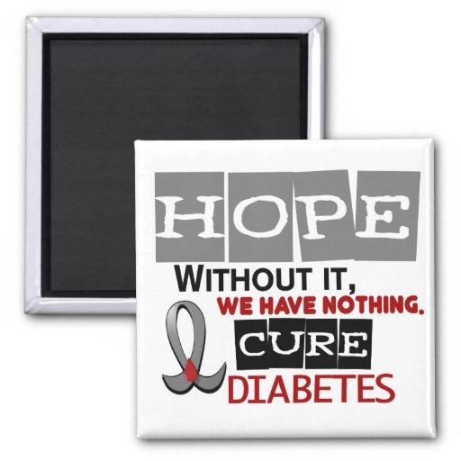 ESPERANZA 2 de la diabetes Imán De Nevera