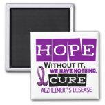 ESPERANZA 2 de la enfermedad de Alzheimer Imanes