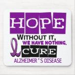 ESPERANZA 2 de la enfermedad de Alzheimer Tapetes De Ratón