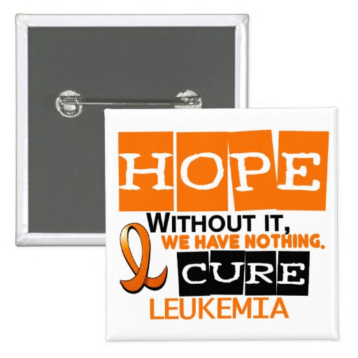 ESPERANZA 2 de la leucemia Pins