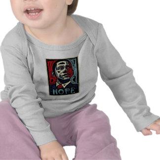 Esperanza 2 de Obama Camiseta