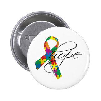 Esperanza 2 del autismo pin