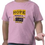 ESPERANZA 2 del sarcoma Camisetas