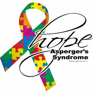 Esperanza 2 del síndrome de Asperger Fotoescultura Vertical