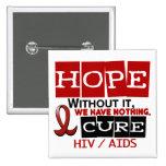 ESPERANZA 2 DEL VIH DEL SIDA PINS