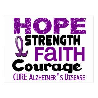 ESPERANZA 3 de la enfermedad de Alzheimer Postal