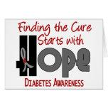 ESPERANZA 4 de la diabetes Tarjetón
