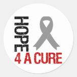 Esperanza 4 de la diabetes una cinta de la curació pegatina redonda