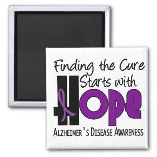 ESPERANZA 4 de la enfermedad de Alzheimer Imán Cuadrado