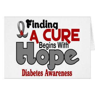 ESPERANZA 5 de la diabetes Tarjeton