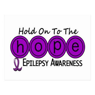 ESPERANZA 5 de la epilepsia Postales