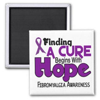 ESPERANZA 5 del Fibromyalgia Imán Cuadrado