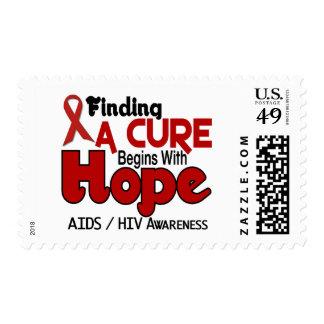 ESPERANZA 5 DEL VIH DEL SIDA SELLO