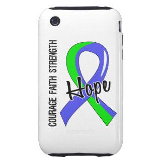 Esperanza 5 EDS de la fe del valor iPhone 3 Tough Protectores