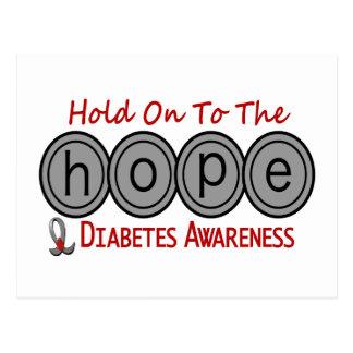 ESPERANZA 6 de la diabetes Postales