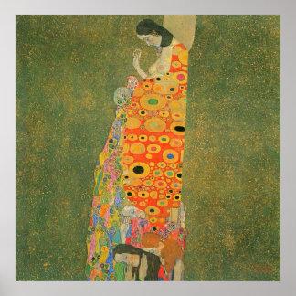 Esperanza abandonada de Gustavo Klimt Impresiones