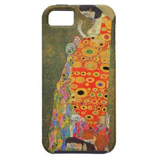 Esperanza abandonada Klimt de Gustavo iPhone 5 Coberturas