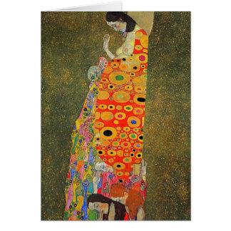 Esperanza abandonada Klimt de Gustavo Tarjeton
