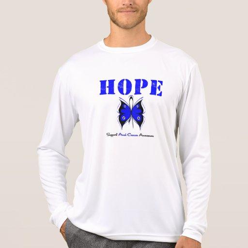 Esperanza anal del cáncer camisetas