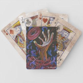 Esperanza - arte de la conciencia del dolor de la  barajas de cartas