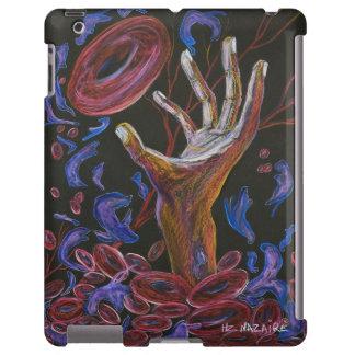 Esperanza - arte de la conciencia del dolor de la  funda para iPad