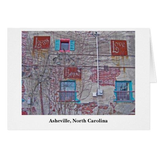 esperanza Asheville, Asheville, Carolina del Norte Tarjeta Pequeña