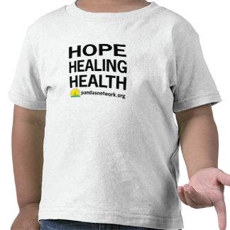 Esperanza, camiseta curativa del niño de la salud