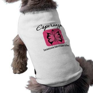 Esperanza - Cancer de Mamá Camiseta De Perrito