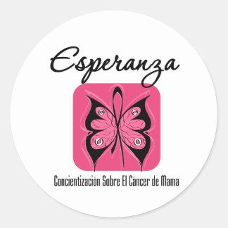 Esperanza - Cancer de Mama Sticker