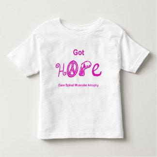 Esperanza conseguida - rosa remeras