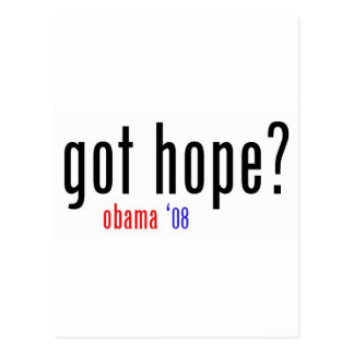 ¿esperanza conseguida? postal