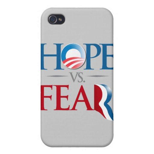 ESPERANZA CONTRA FEAR.png iPhone 4/4S Carcasas
