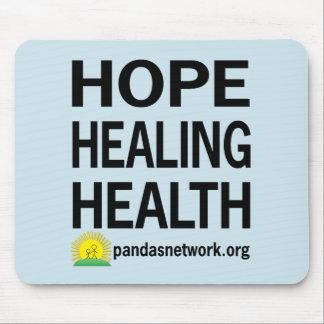 Esperanza, curando, cojín de ratón de la salud tapete de ratones