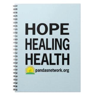 Esperanza, curando, cuaderno de la salud