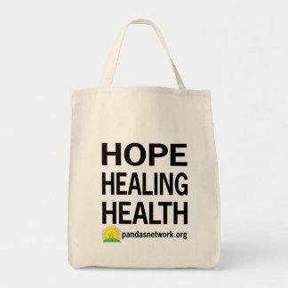 Esperanza, curando, la bolsa de asas de la salud