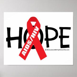 Esperanza de AIDS/HIV Posters
