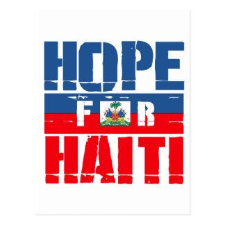 Esperanza de Haití Tarjeta Postal