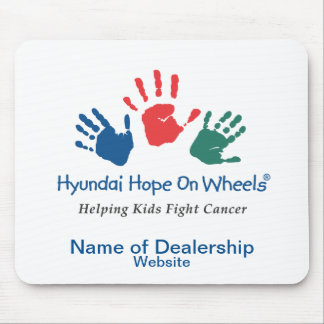 Esperanza de Hyundai en el personalizable Mousepad