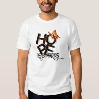 Esperanza de la camisa de la conciencia de RSD