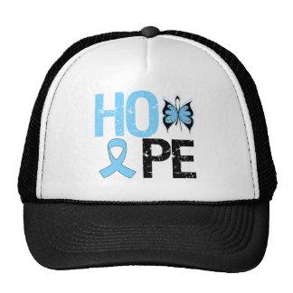Esperanza de la conciencia del cáncer de próstata gorro de camionero