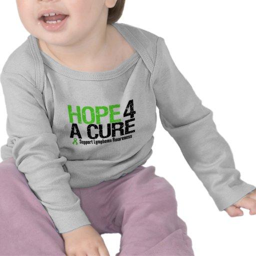 Esperanza de la conciencia del linfoma de una camiseta