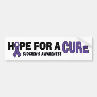 Esperanza de la curación… un Sjogren Pegatina Para Auto