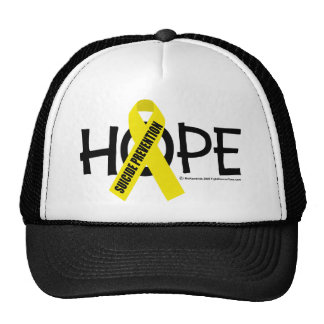 Esperanza de la prevención del suicidio gorro