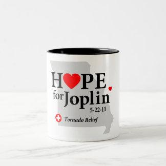 Esperanza de la taza de Joplin