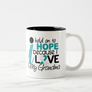 Esperanza de mi cáncer de cuello del útero de la a taza de café