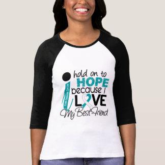 Esperanza de mi cáncer de cuello del útero del mej camisetas