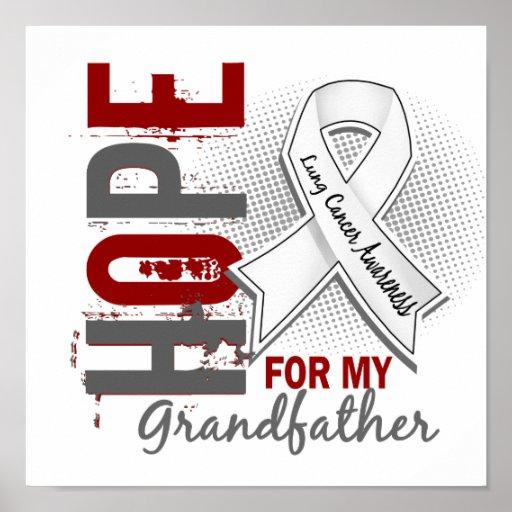 Esperanza de mi cáncer de pulmón de abuelo impresiones