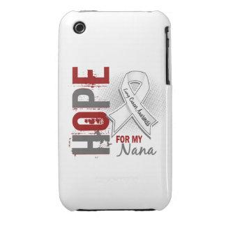 Esperanza de mi cáncer de pulmón de Nana Case-Mate iPhone 3 Funda