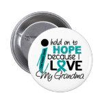 Esperanza de mi cáncer ovárico de la abuela pin