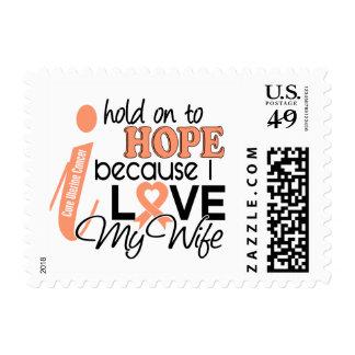 Esperanza de mi cáncer uterino de la esposa sellos